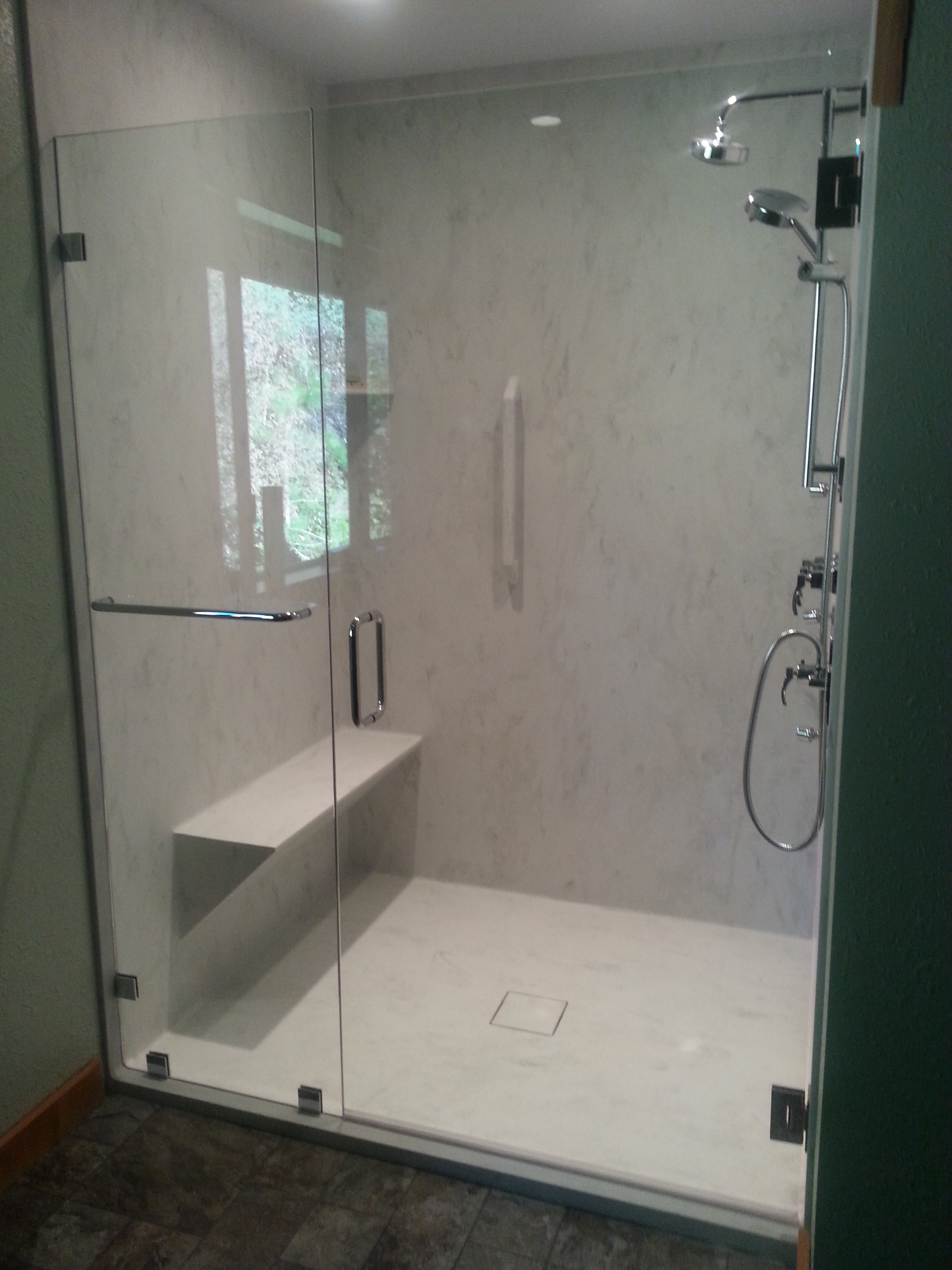 Shower Doors | Redwood Glass