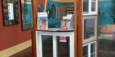 Redwood glass and windows showroom