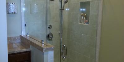 framless shower door