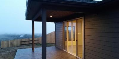Milgard Tuscany series patio door slider
