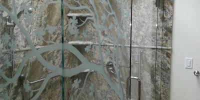 no header door hinging off 1/2 panel