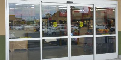 Contact & Automatic doors   Redwood Glass